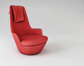 3D model Hi turn chair