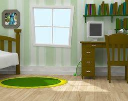 3D Cartoon Room
