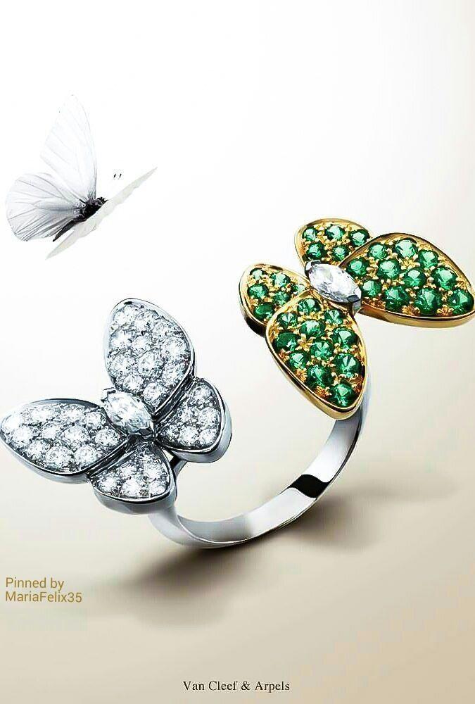 Butterfly 2 ring Stl