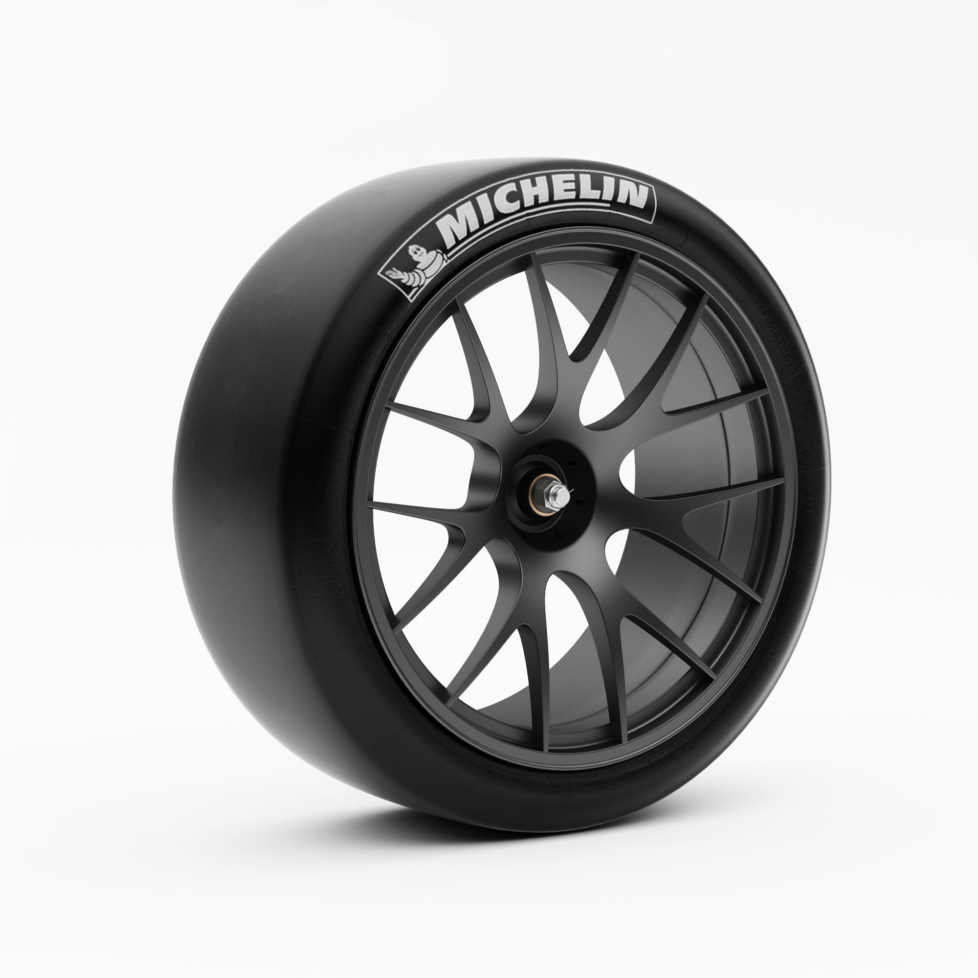 Wheel Racing BBS with Slik Tire