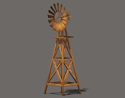 Old Windmill 3D model