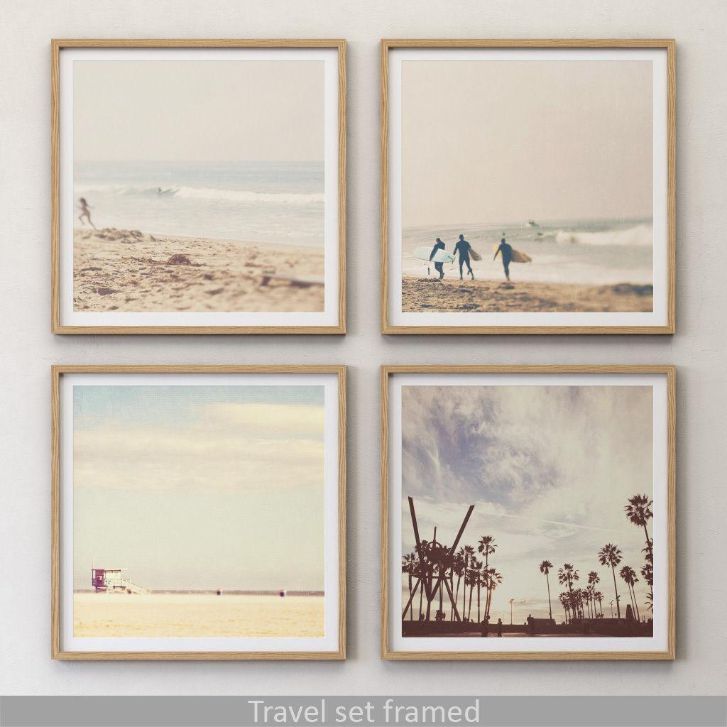 JUNIQE Travel set framed