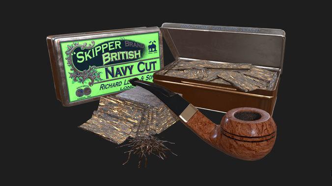 Old Tobacco Tin - Skipper Navy Cut