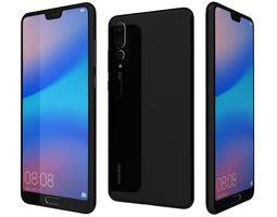 3D Huawei P20 Pro Black