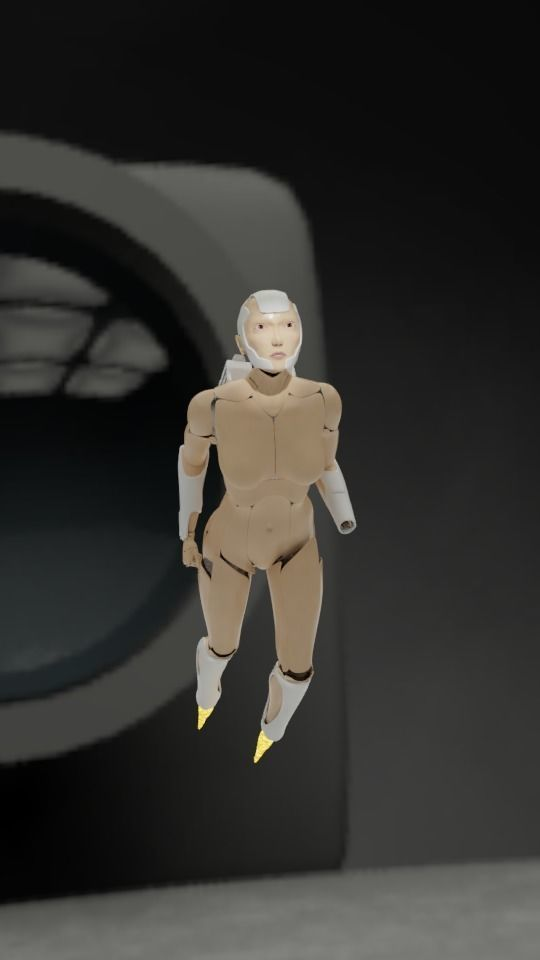 Linda-058 - military android