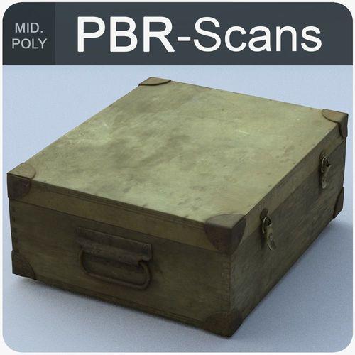 trunk middle poly 3d model obj fbx ma mb 1
