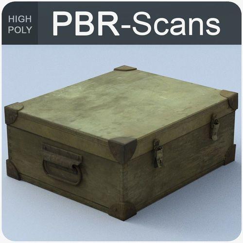 trunk high poly 3d model obj mtl fbx ma mb 1