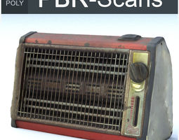 3D Heater Middle Poly