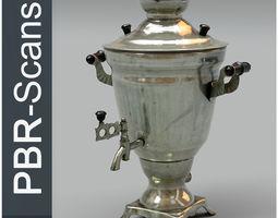 3D Samovar Middle Poly