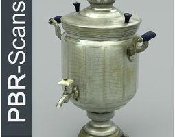 3D model Samovar Low Poly