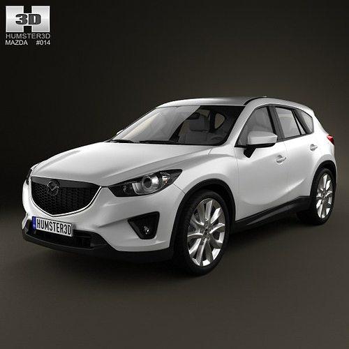 Mazda Cx5 Reviews: Mazda CX-5 2012 3D