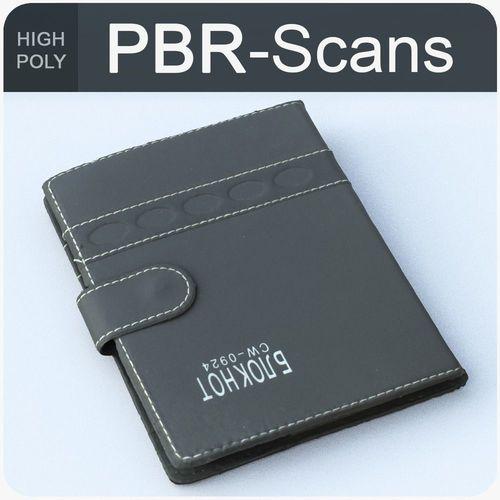 notebook high poly 3d model obj mtl fbx ma mb 1
