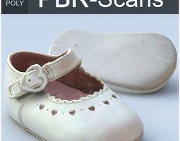 3D PBR Child Shoe High Poly