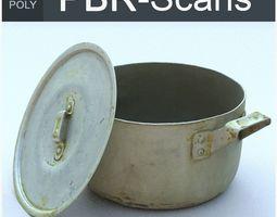 Saucepan High Poly 3D PBR