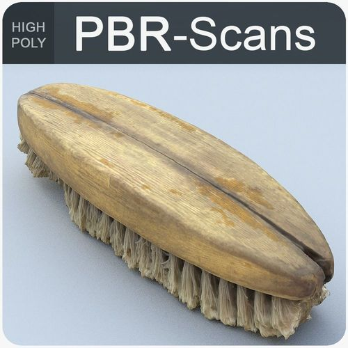 brush high poly 3d model obj fbx ma mb 1