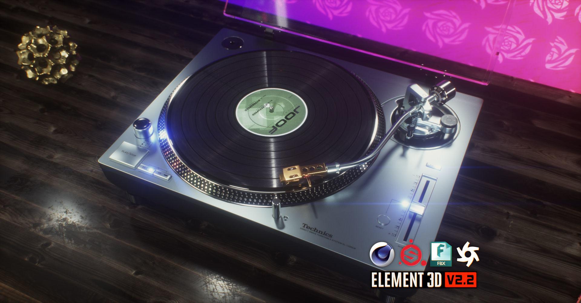 Technics Turntable Vinyl Record Player