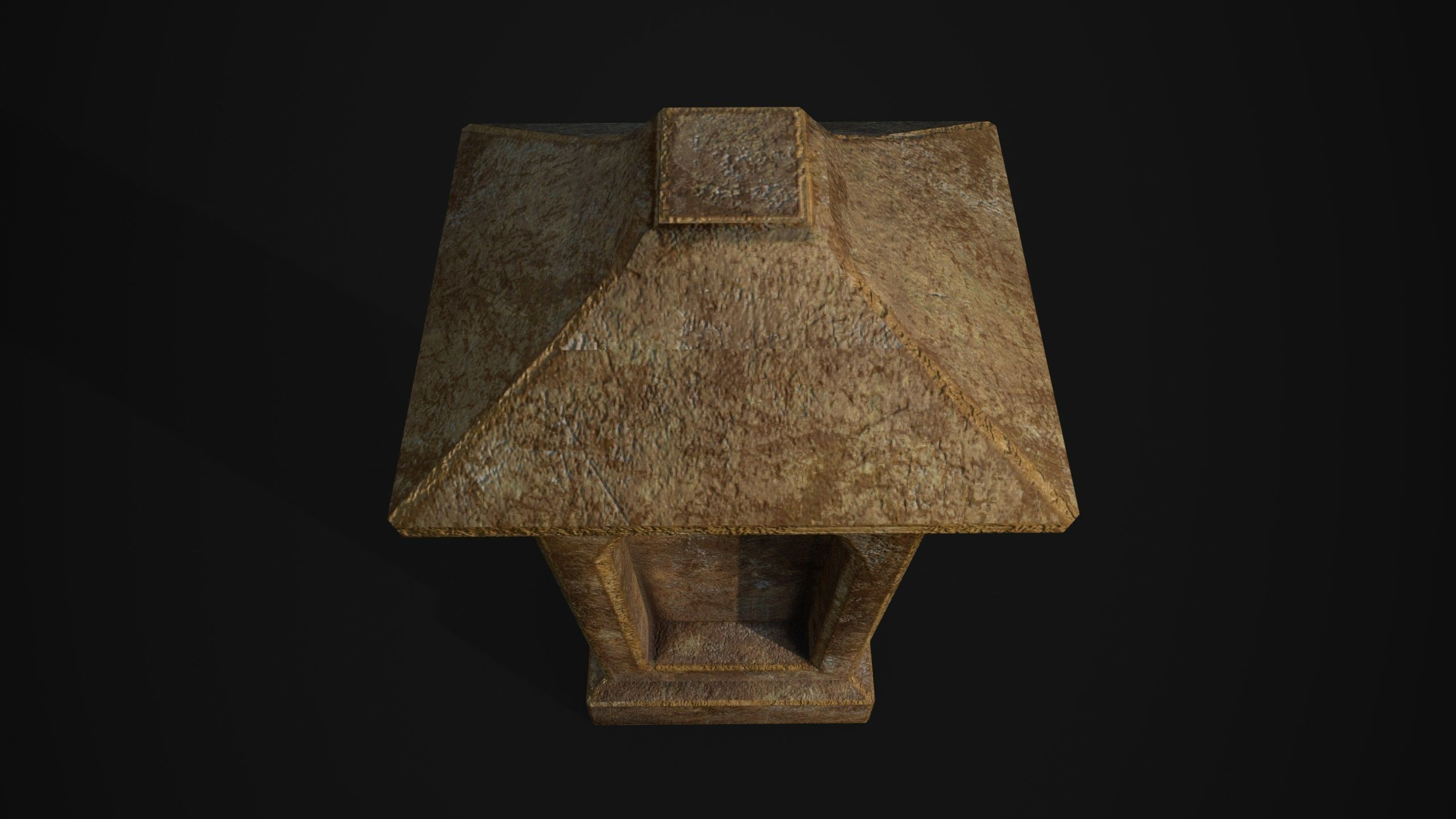 3d asset low poly tombstone cgtrader tombstone 3d model obj 3ds fbx mtl 8 arubaitofo Images
