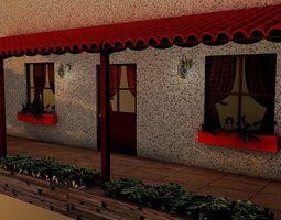 3D Model House Design Exterior