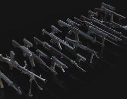 3D model Gun Collection