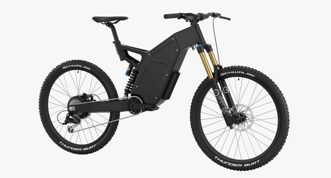 electric bike 3 3d model max obj mtl fbx 1