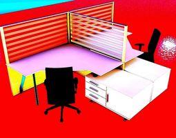 3D desk Workspace