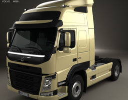 3D model Volvo FM 410 Tractor Truck 2013