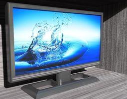tv monitor 3D model