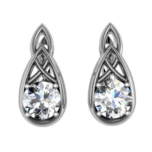 earrings brilliant set 3d model stl 3dm 1