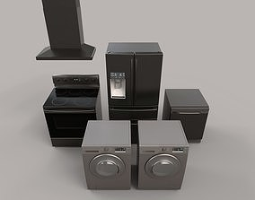 Modern Appliances 3D model