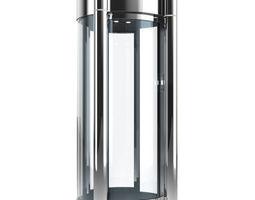 metal detector safety cabin 3d model