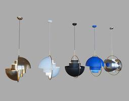 Gubi Multi Lite Pendant DIA 36 by Louis Weisdorf 3D model