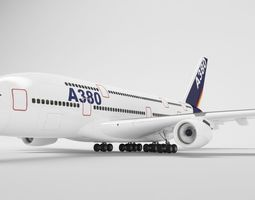 Airbus A380 - Collection 3D