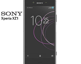 Sony Xperia XZ1 3D model
