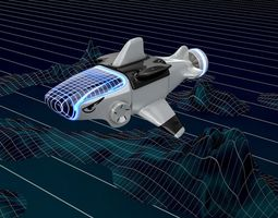 3D ORCA Ship