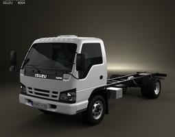 3D model Isuzu NPR Chassis 2011