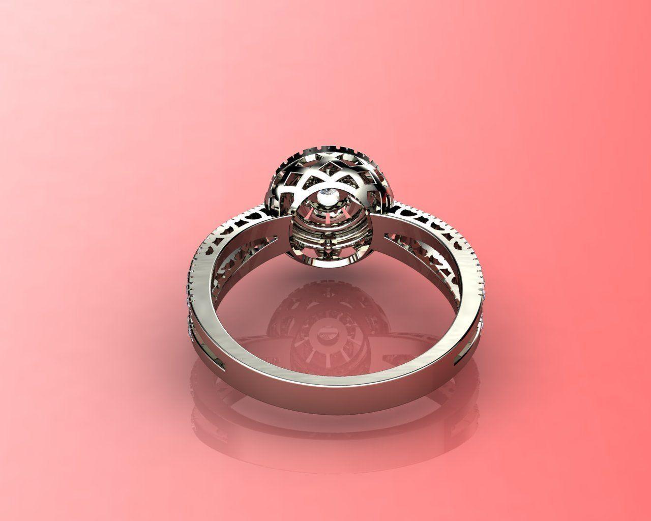 RINGS J 1 3D printable model | CGTrader