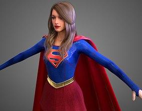 Supergirl - TV Show HighPoly 3D