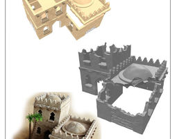 modular arabic building set -stl file- 3D printable model