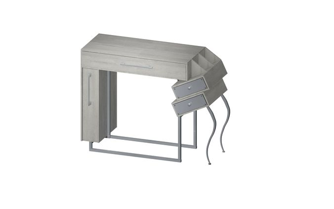 make-up table 3d model 3ds gsm 1