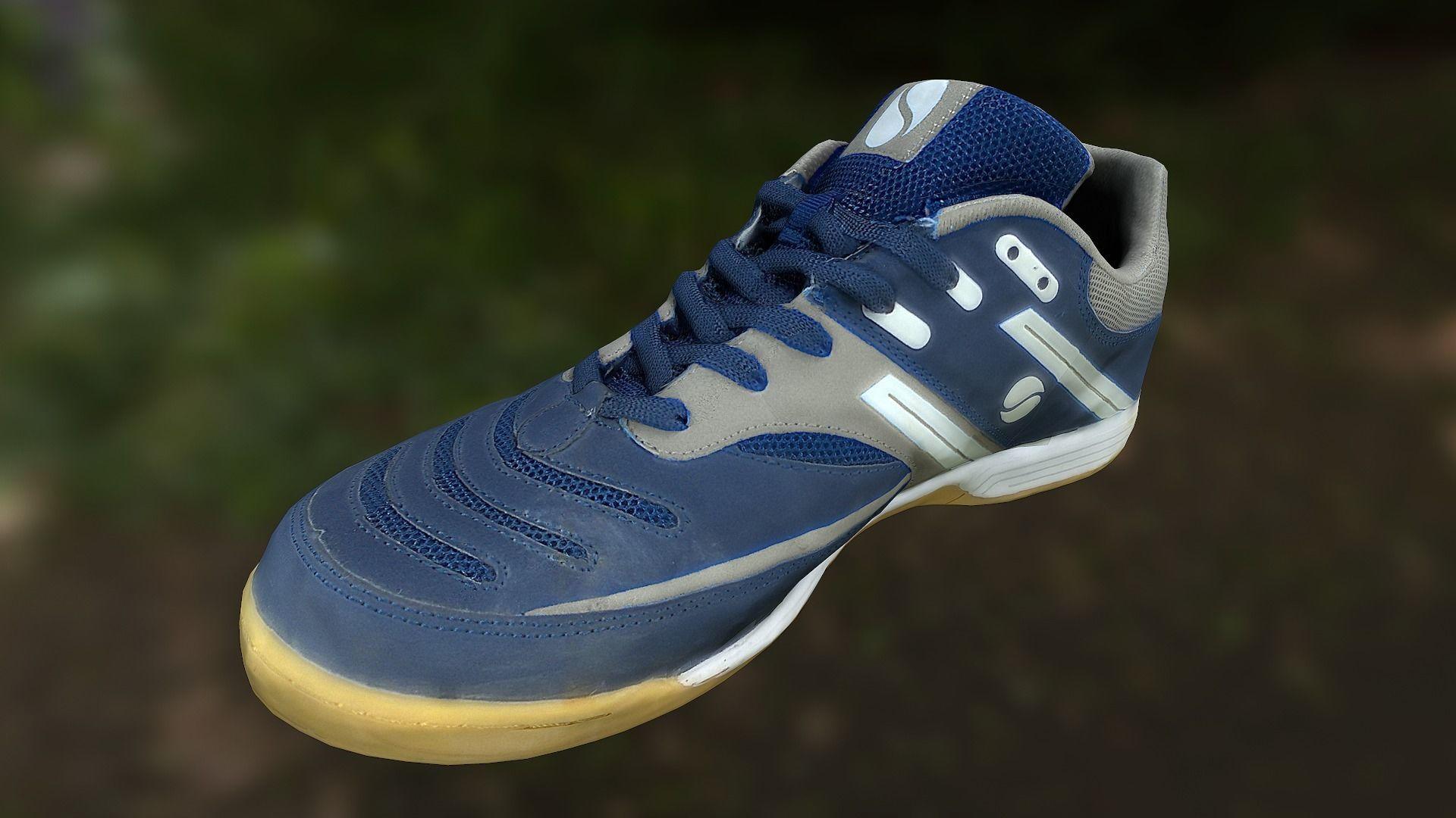 Sport shoe low poly 3D model