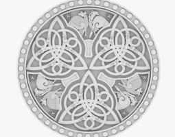 Celtic Ornament 10 3D
