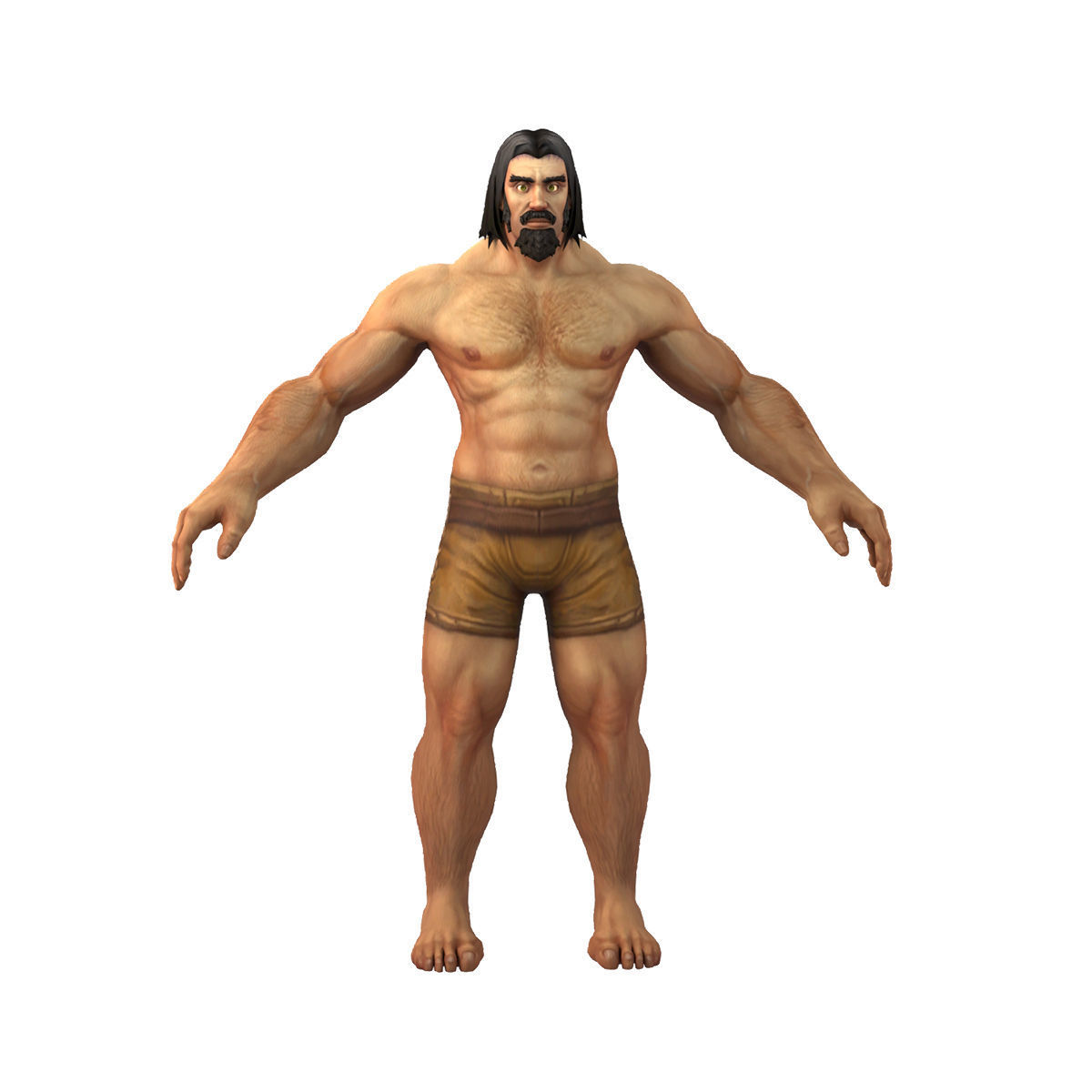Human Male Full Rig and HumanIK
