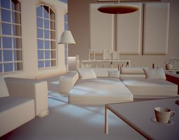 Living Room 3D printable model