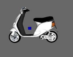 zip sp fast rider 3D Model