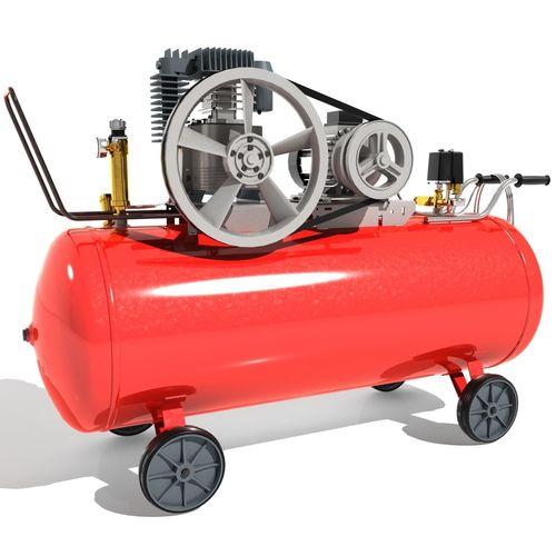 electric air compressor 3d model max obj mtl 3ds fbx 1