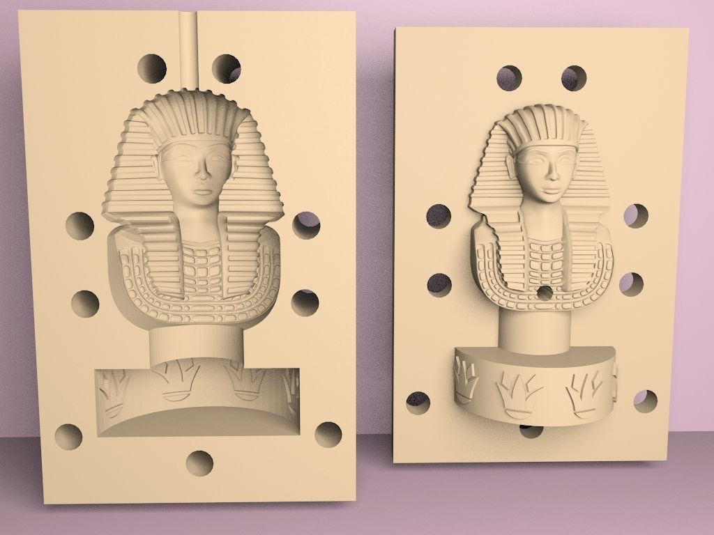 king tutankhamun mold