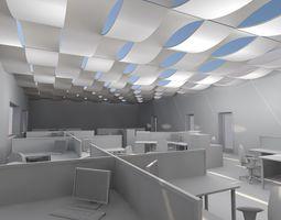 archicad wave ceiling object 3D asset