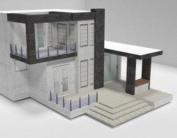 3D model Excellent home