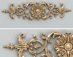 3d carved decor horizontal 025