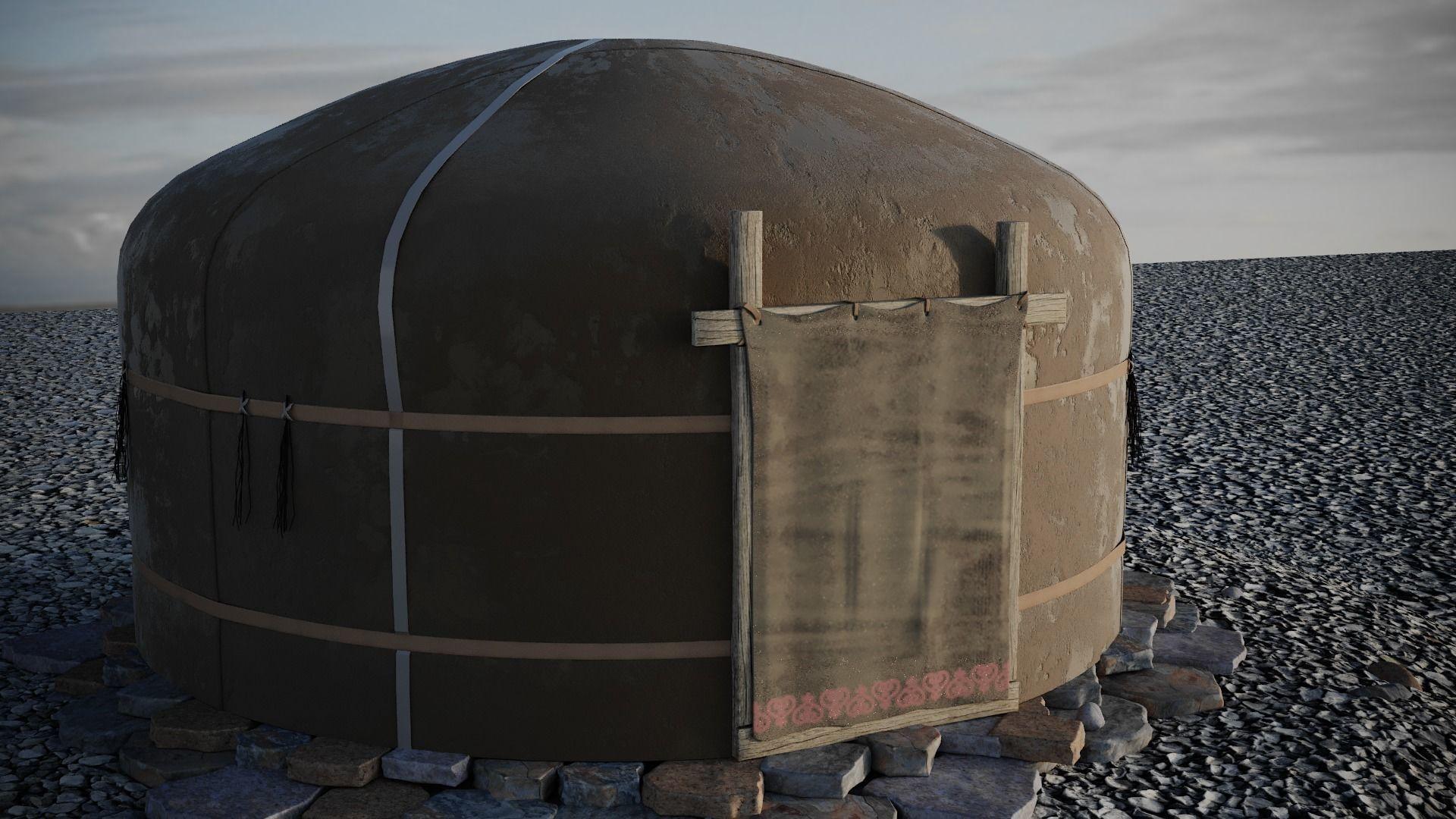 yurt felt house